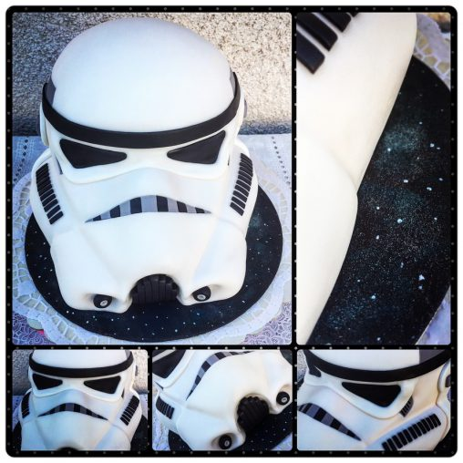 dort stormtrooper starwars white black star